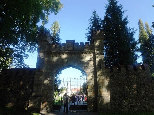 Латвия. Сигулда. Сигулдский замок
