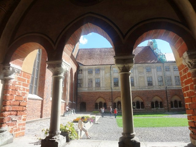Поездка в Ригу. Внутренний домик Домского собора