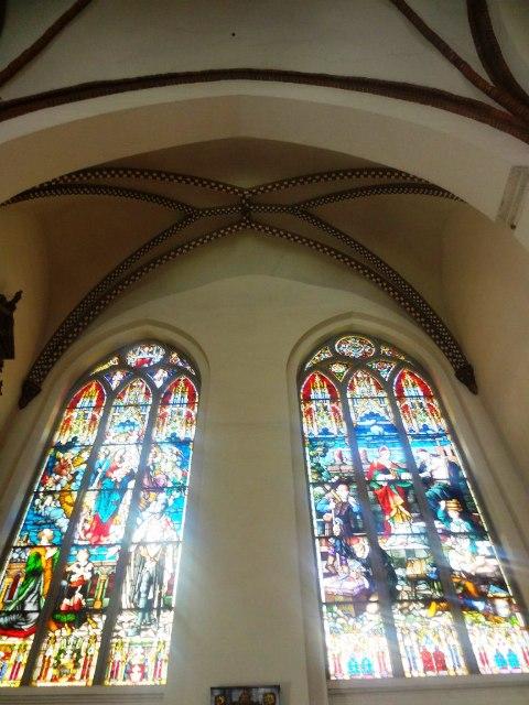 Поездка в Ригу. Витражи Домского собора
