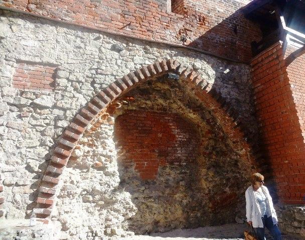 Поездка в Ригу. Крепостная стена