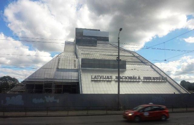 Поездка в Ригу. Национальная библиотека