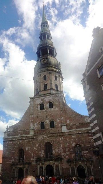 Поездка в Ригу. Церковь св. Петра