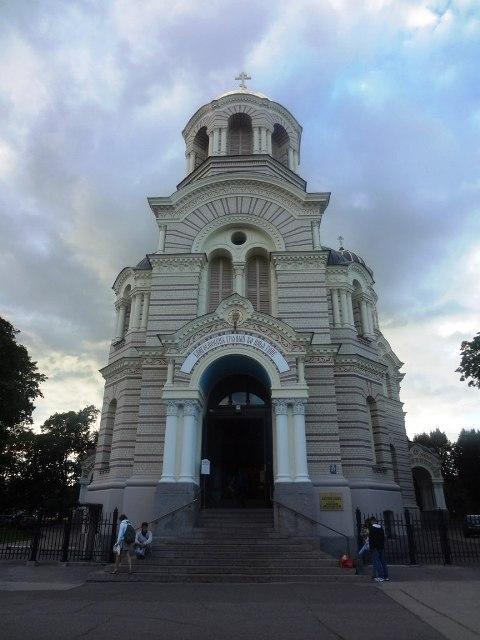 Поездка в Ригу. Православный храм
