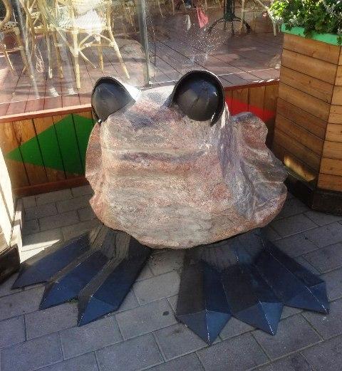Поездка в Ригу. Фигурка из камня