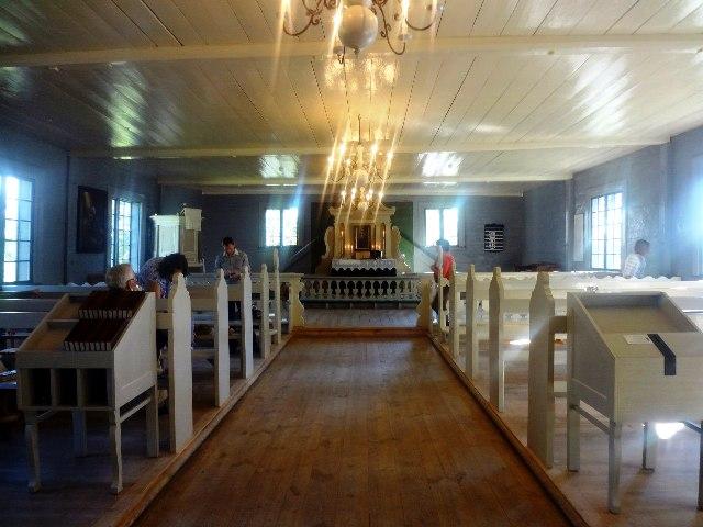 Латвия. Турайда. Евангелистско-лютеранская церковь
