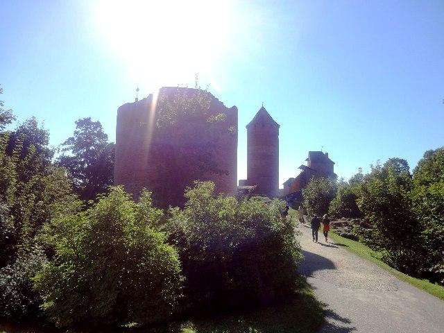 Латвия. Турайдский замок