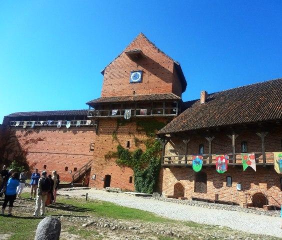 Латвия. Турайдская крепость