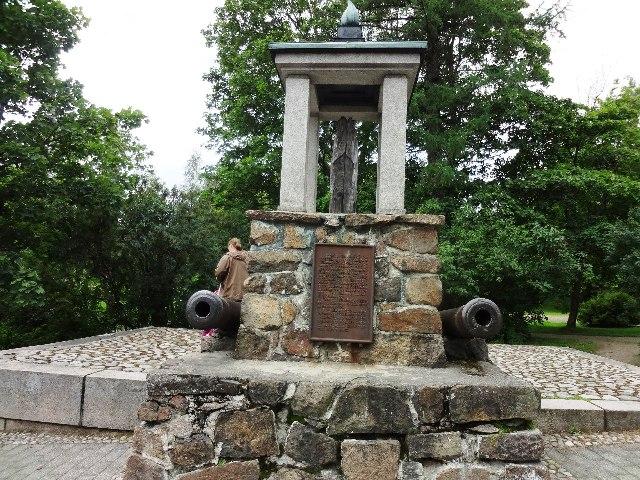 Финляндия. Лаппеенранта. Памятник бревну