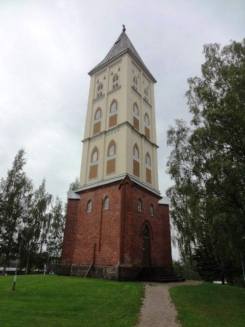 Финляндия. Лаппеенранта. Колокольня церкви девы Марии