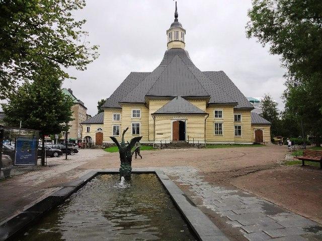 Финляндия. Лаппеенранта. Церковь девы Марии