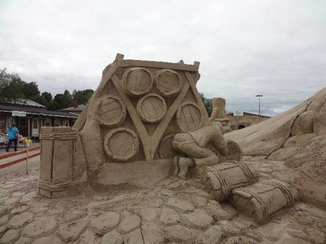 Финляндия. Лаппеенранта. Песчаный городок