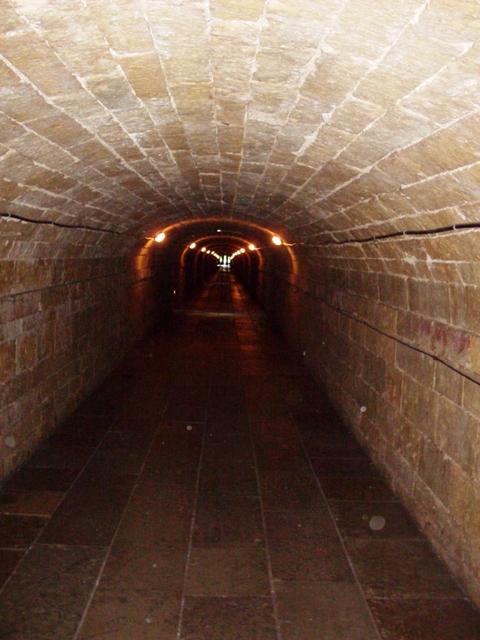 Большой Гатчинский дворец. Подземный ход