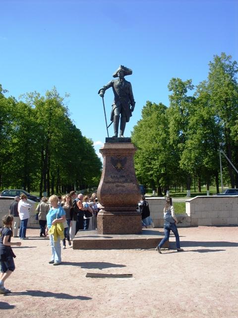 Гатчина. Памятник Павлу I