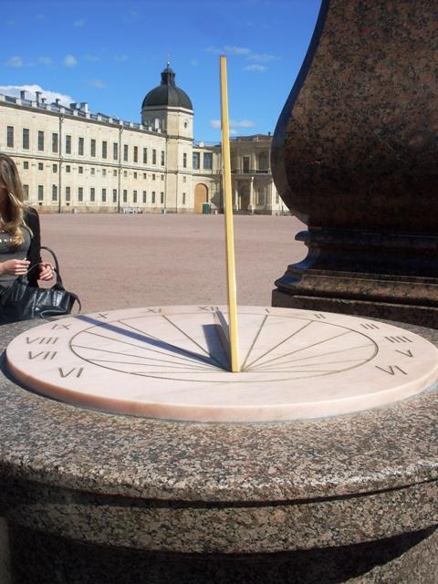 Большой Гатчинский дворец. Солнечные часы
