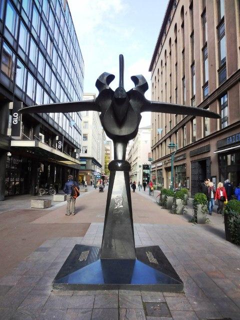 Хельсинки. Памятник Фазеру