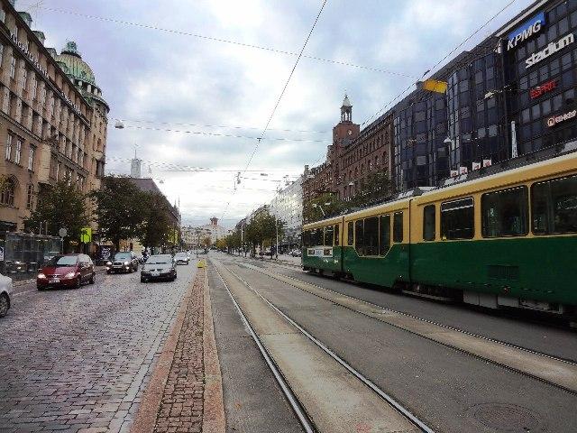 Хельсинки. Трамвай