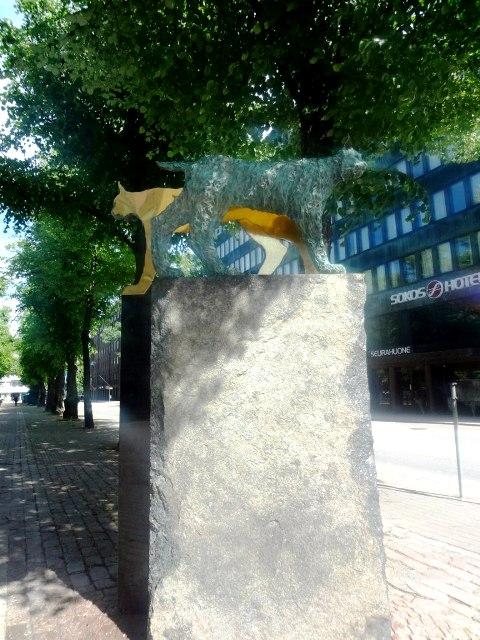 Финляндия. Котка. Скульптуры_3