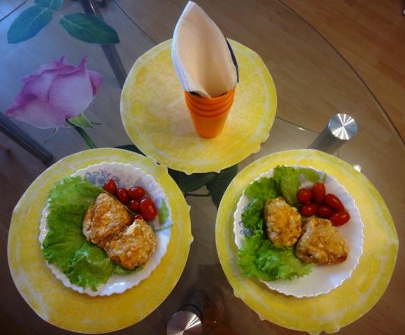 куриные грудки, запеченные с ананасом