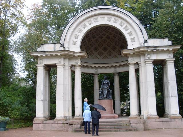 Павловский парк. Павильон Росси