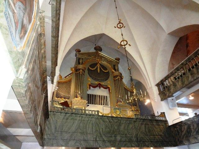Финляндия. Порвоо. Орган Кафедрального собора
