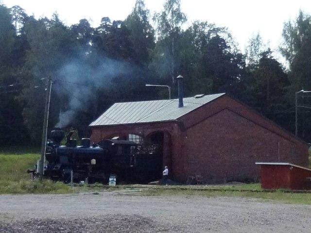 Финляндия. Порвоо. Паровозный музей