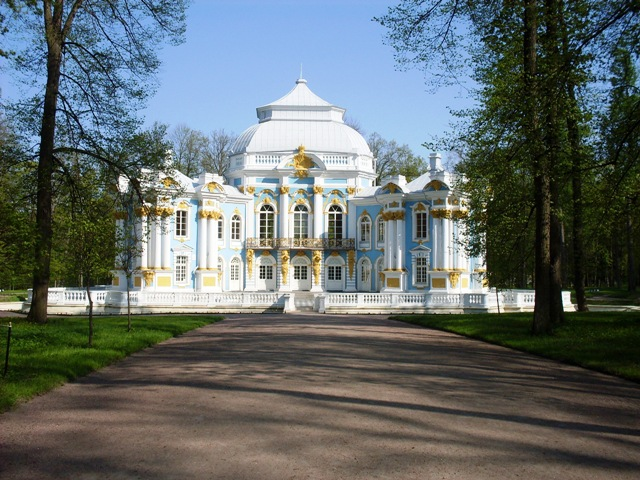 """Екатерининский парк в Пушкине. Павильон """"Эрмитаж"""""""
