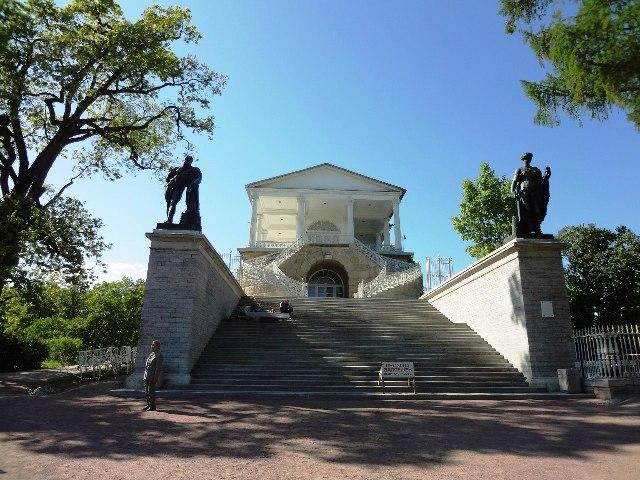 Екатерининский парк в Пушкине. Камеронова галерея