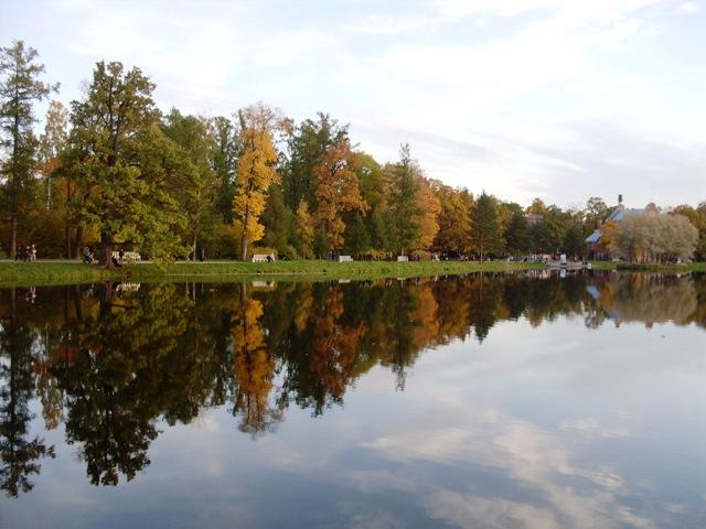 Екатерининский парк в Пушкине_1