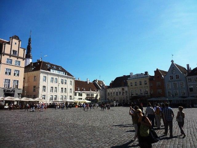 Эстония. Таллин. Ратушная площадь