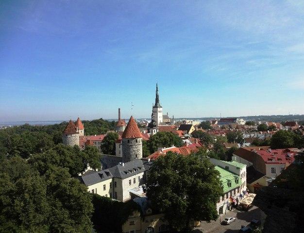 Эстония. Таллин. Старый город_1