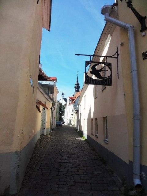 Эстония. Таллин. Улочки Старого города_5