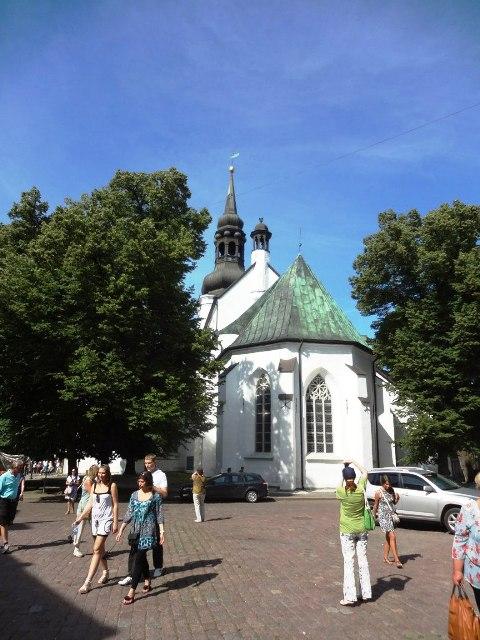 Эстония. Таллин. Домский собор