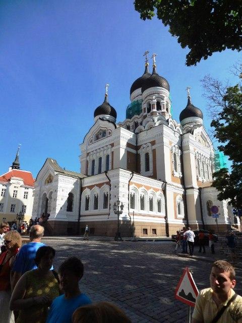 Эстония. Таллин. Собор Александра Невского