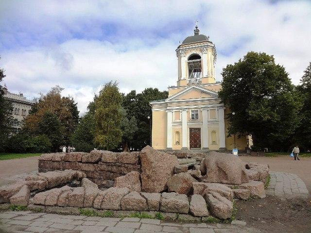 Выборг. Лютеранская церковь