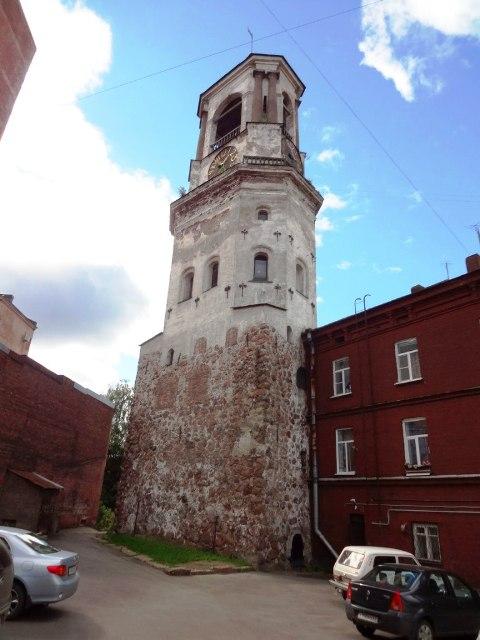 Выборг. Часовая башня