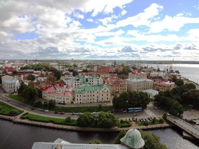 Выборг. Панорама города