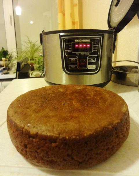Бездрожжевой хлеб в мультиварке_3