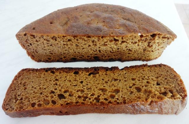 Бездрожжевой хлеб в мультиварке_4