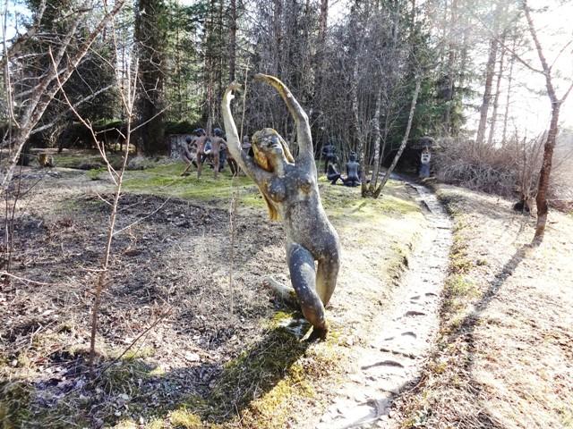 Финляндия. Париккала. Мистический лес Patsaspuisto_3