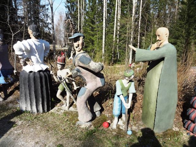 Финляндия. Париккала. Мистический лес Patsaspuisto_15