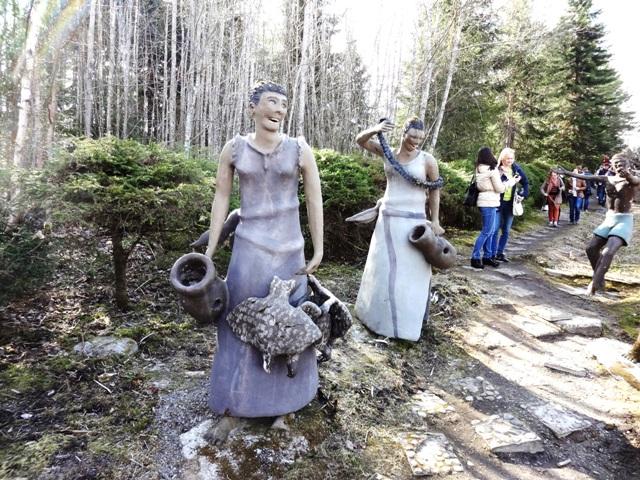 Финляндия. Париккала. Мистический лес Patsaspuisto_22