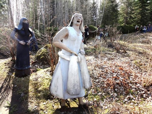 Финляндия. Париккала. Мистический лес Patsaspuisto_24