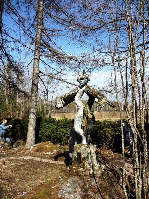 Финляндия. Париккала. Мистический лес Patsaspuisto_29