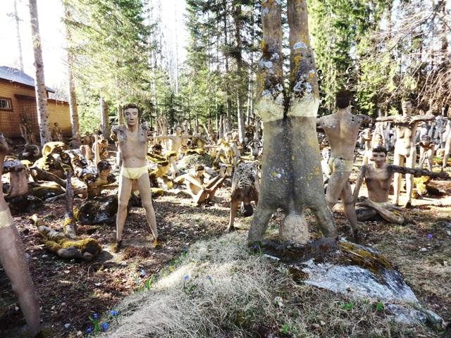 Финляндия. Париккала. Мистический лес Patsaspuisto_34