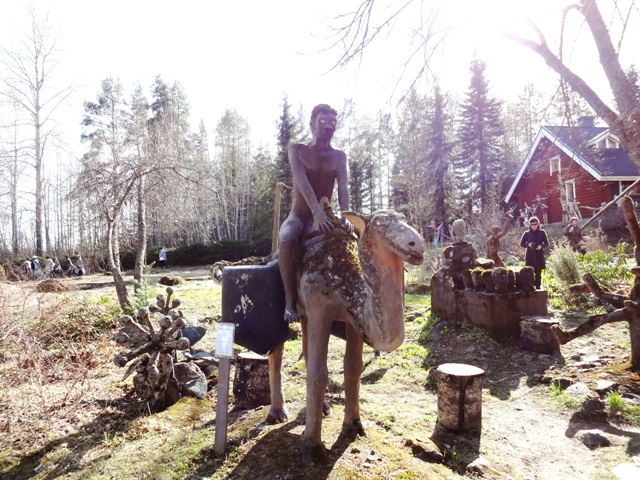 Финляндия. Париккала. Мистический лес Patsaspuisto_36