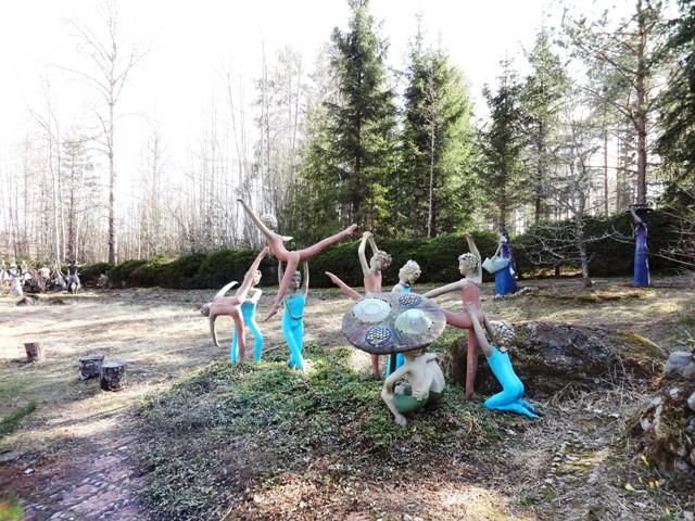Финляндия. Париккала. Мистический лес Patsaspuisto_44