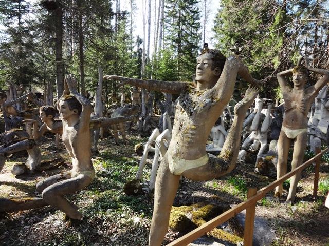 Финляндия. Париккала. Мистический лес Patsaspuisto_46