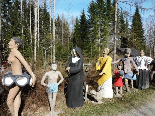 Финляндия. Париккала. Мистический лес Patsaspuisto_51