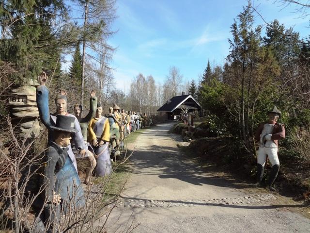 Финляндия. Париккала. Мистический лес Patsaspuisto
