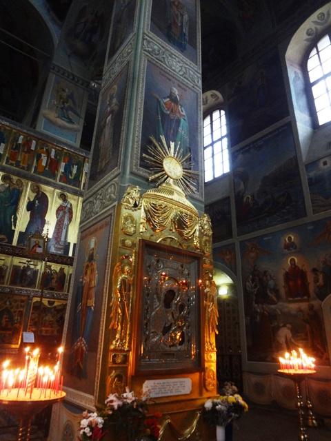 Валдай Иверский монастырь. Икона Иверской Божьей матери